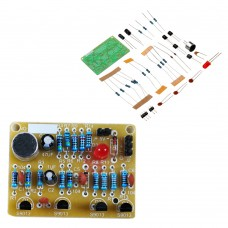 10pcs DIY Electronic Clapping Voice Control Switch Module Kit Induction Training DIY Production Kit