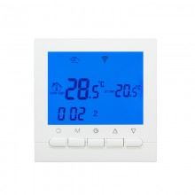 Wifi Thermostat for Electric Heating Controlled for IOS and Android Smart Phone Programmable WIF