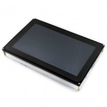 WAVESHARE 10.1inch Resistive Touch Screen LCD, HDMI interface with Case, Supports Multi mini-PCs