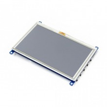 WAVESHARE 5 Inch HDMI LCD (G) 800×480 Touch Screen for Raspberry Pi Supports Various Systems