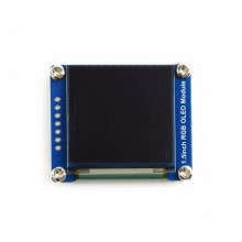 WAVESHARE 128×128 General 1.5inch RGB OLED Display Module 16-bit High Color with SPI Interface