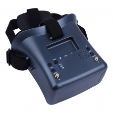 LS-008D 4.3 inch 480×272 Pixel Display 5.8GHz 40CH FPV Goggles, Support TF Card & DVR