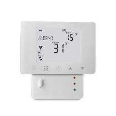 WiFi & RF Wireless Room Electric Heating Thermostat Remote Control Thermometer Weekly Programmable
