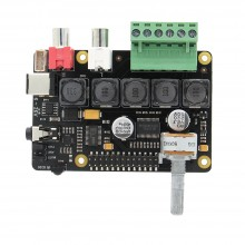 X400 V3.0 DAC+ AMP Full-HD Class-D Amplifier I2S PCM5122 Audio Expansion Board For Raspberry Pi