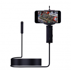 NK-SCR-80200 200W Pixel Hard Wire WIF HD Waterproof Borescope Industrial Handheld Borescope with 1/3M Cable Android Apple Universal
